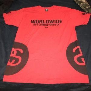 Stussy logo graphic t shirt